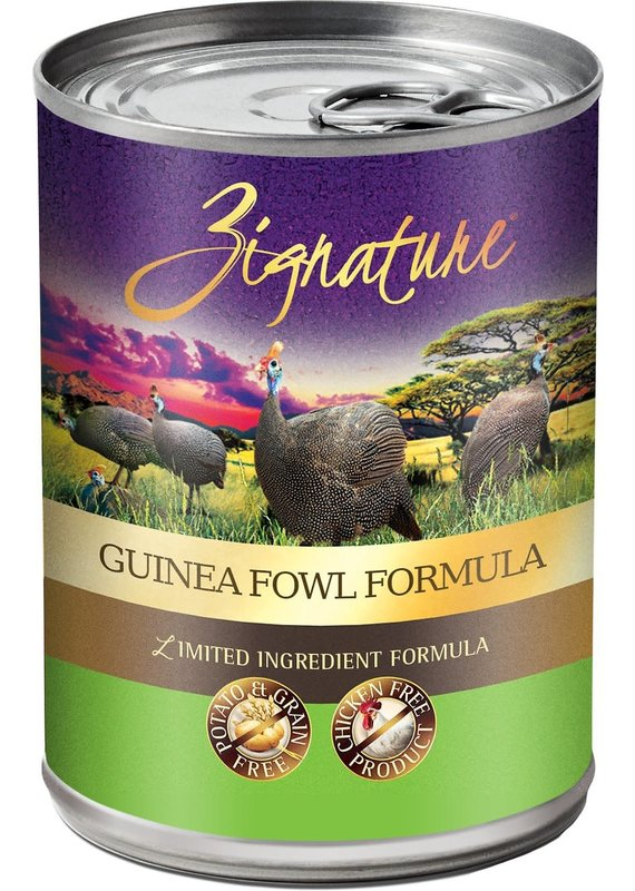 Zignature Zignature Limited Ingredient Guinea Fowl Formula Canned Wet Dog Food 13-oz