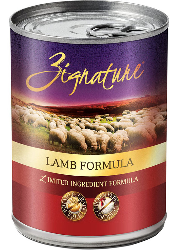 Zignature Zignature Limited Ingredient Lamb Formula Canned Wet Dog Food 13-oz