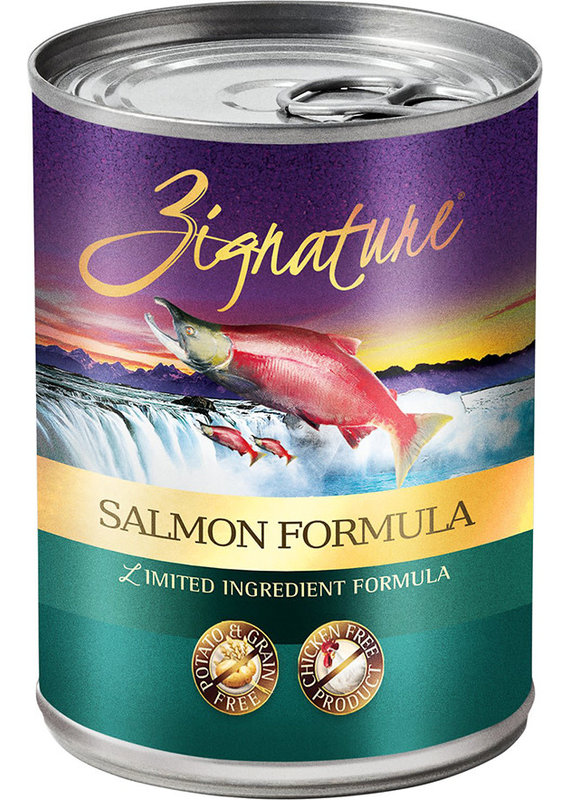 Zignature Zignature Limited Ingredient Salmon Formula Canned Wet Dog Food 13-oz