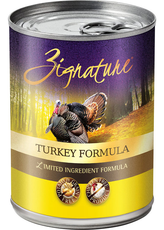 Zignature Zignature Limited Ingredient Turkey Formula Canned Wet Dog Food 13-oz