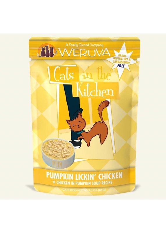 Weruva Weruva Cats in the Kitchen Pumpkin Lickin' Chicken Single Pouch Wet Cat Food 3-oz