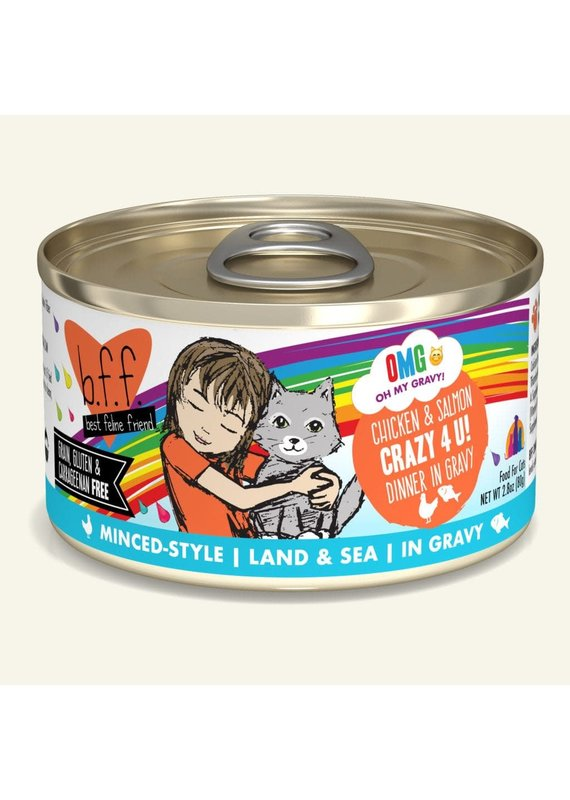 Weruva Weruva BFF OMG Chicken & Salmon Crazy 4 U! Canned Wet Cat Food