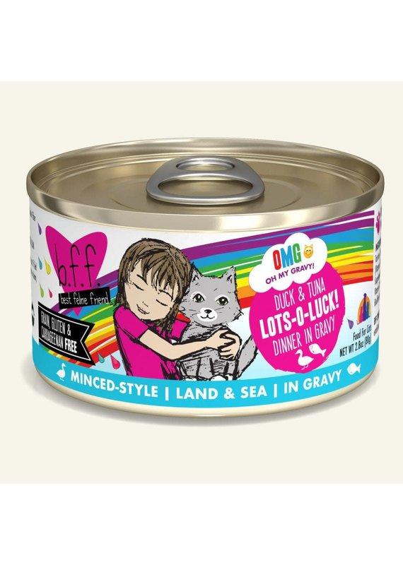 Weruva Weruva BFF OMG Duck & Tuna Lots-O-Luck! Canned Wet Cat Food 2.8-oz