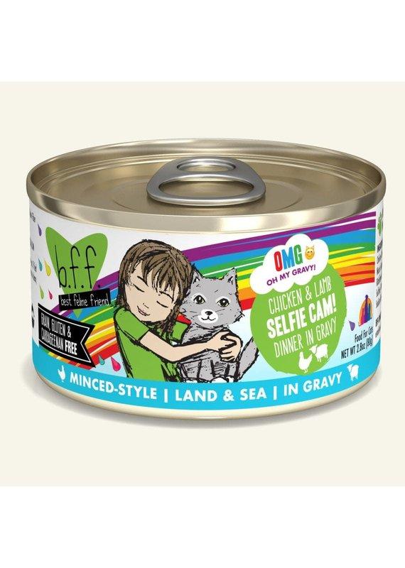 Weruva Weruva BFF OMG Chicken & Lamb Selfie Cam! Canned Wet Cat Food 2.8-oz