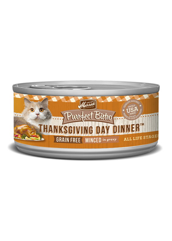 Merrick Merrick Purrfect Bistro Minced Thanksgiving Day Dinner Canned Wet Cat Food 5.5-oz