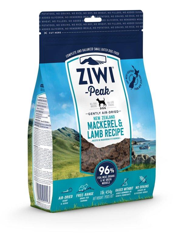 Ziwi Peak Ziwi Peak Air-Dried Mackerel & Lamb Recipe Dog Food 16-oz