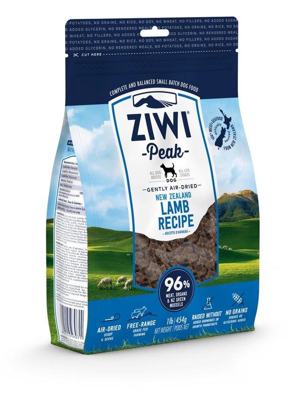 Ziwi Peak Ziwi Peak Air-Dried Lamb Recipe Dog Food 16-oz