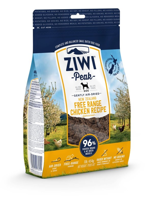 Ziwi Peak Ziwi Peak Air-Dried Chicken Recipe Dog Food 16-oz