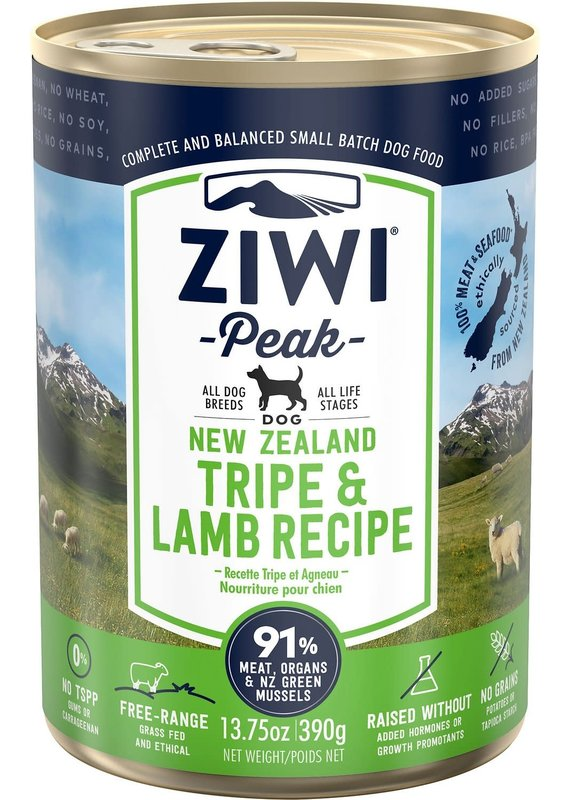 Ziwi Peak Ziwi Peak Tripe & Lamb Recipe Canned Wet Dog Food 13.75-oz