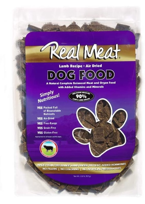 The Real Meat Company Real Meat Air-Dried Lamb Recipe Dog Food 2-lb