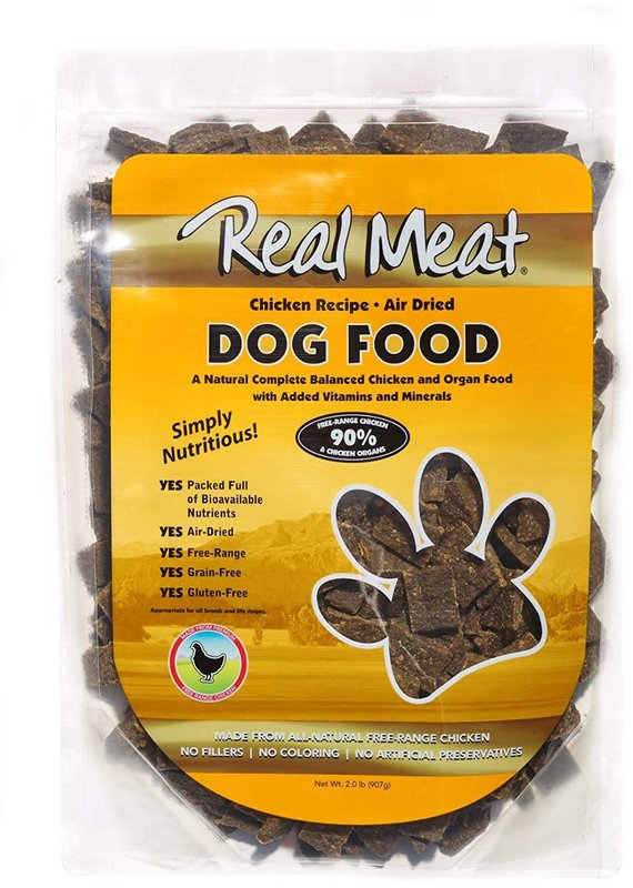 The Real Meat Company Real Meat Air-Dried Chicken Recipe Dog Food 2-lb