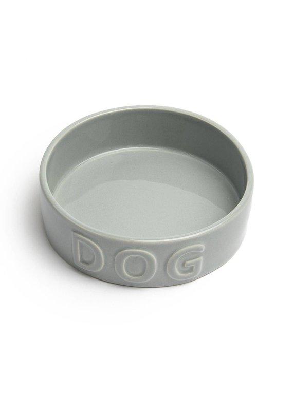Park Life Designs Park Life Designs Classic Dog Grey Pet Bowl Medium
