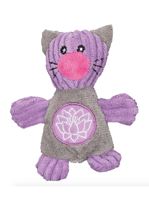 HuggleHounds HuggleHounds Yoga Clever Plush Cat Toy