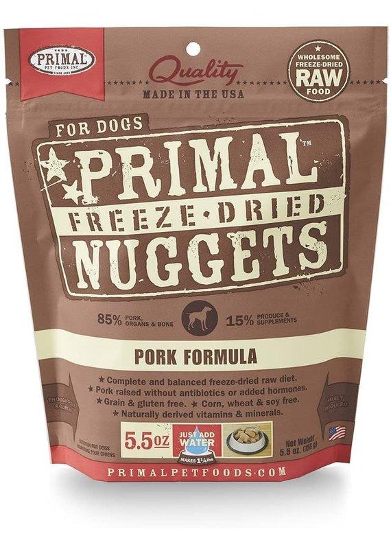 Primal Primal Freeze-Dried Nuggets Grain-Free Pork Formula Dog Food