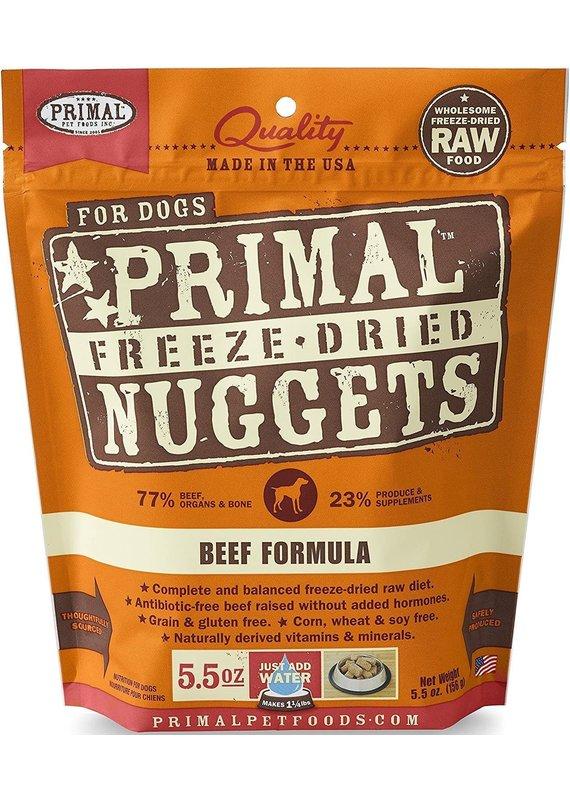 Primal Primal Freeze-Dried Nuggets Grain-Free Beef Formula Dog Food