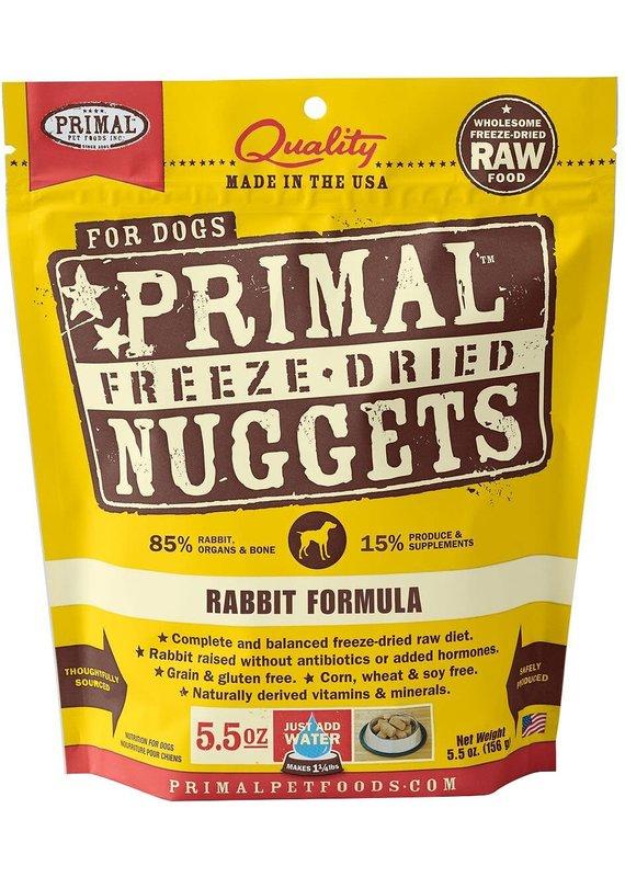 Primal Primal Freeze-Dried Nuggets Grain-Free Rabbit Formula Dog Food
