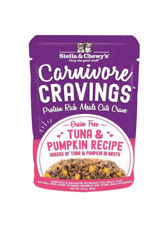 Stella & Chewy's Stella & Chewy's Carnivore Cravings Tuna & Pumpkin Recipe Wet Cat Food 2.8-oz