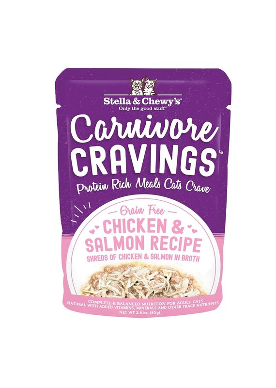 Stella & Chewy's Stella & Chewy's Carnivore Cravings Chicken & Salmon Recipe Wet Cat Food 2.8-oz