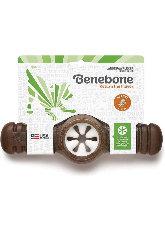 Benebone Benebone Peanut Butter Flavor Pawplexer Tough Dog Chew Toy Large