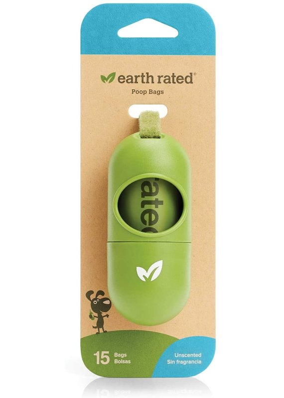 Earth Rated Earth Rated Leash Dispenser with Unscented Bags, 15-bags