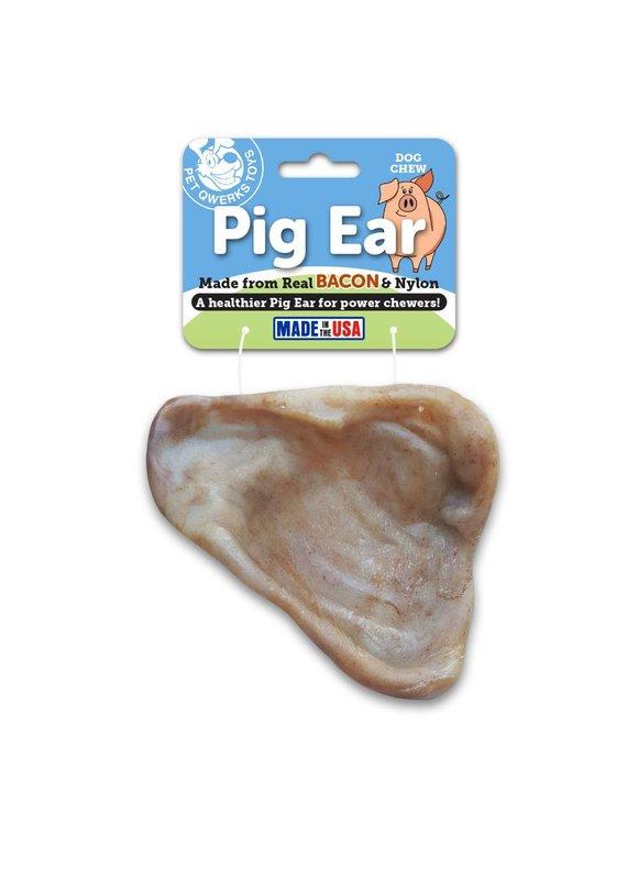 Pet Qwerks Pet Qwerks Pig Ear Dog Chew Toy