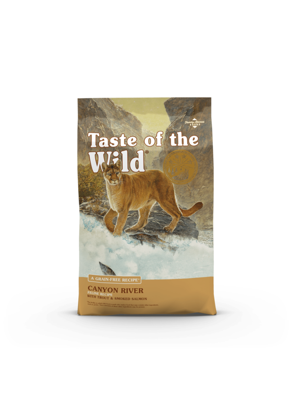 Taste of the Wild Taste of the Wild Canyon River Feline Recipe Dry Cat Food