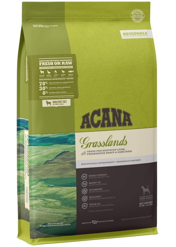 ACANA ACANA Regionals Grasslands Dry Dog Food 25-lb