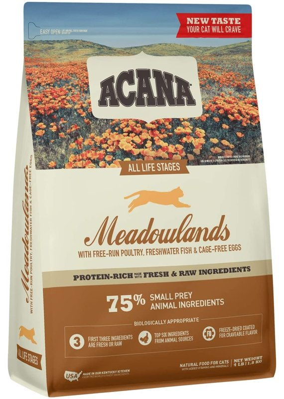 ACANA ACANA Meadowlands Dry Cat Food 4-lb