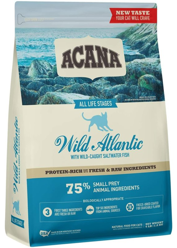 ACANA ACANA Wild Atlantic Dry Cat Food 4-lb