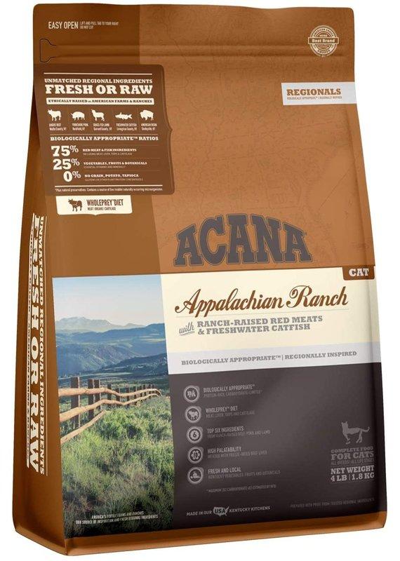 ACANA ACANA Regionals Appalachian Ranch Dry Cat Food 4-lb