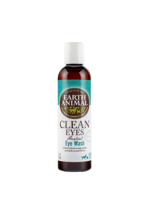 Earth Animal Earth Animal Clean Eyes Herbal Eye Wash for Dogs & Cats 4-oz