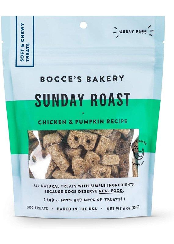 Bocce's Bakery Bocce's Bakery Sunday Roast Dog Soft & Chewy Treats 6-oz