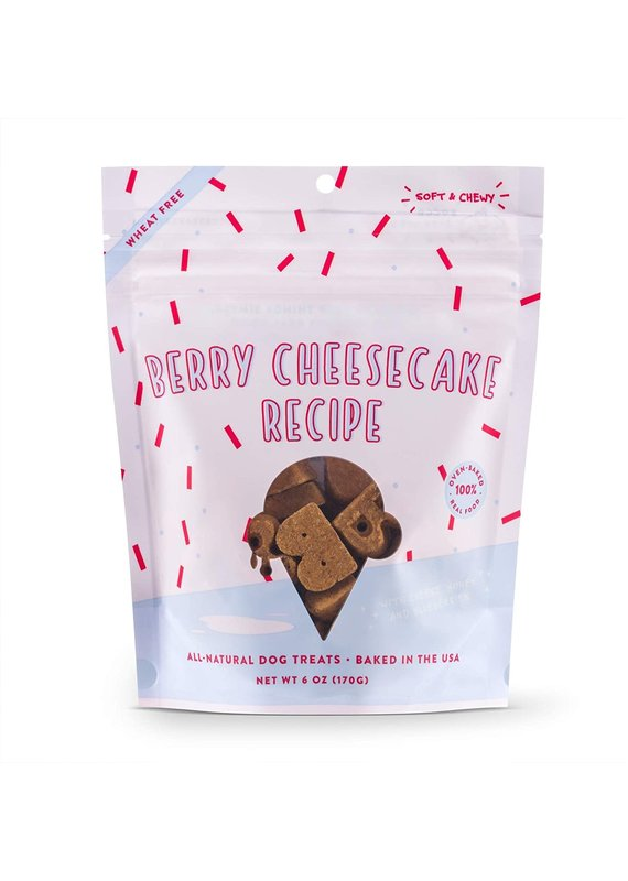 Bocce's Bakery Bocce's Bakery Berry Cheesecake Recipe Dog Soft & Chewy Treats 6-oz