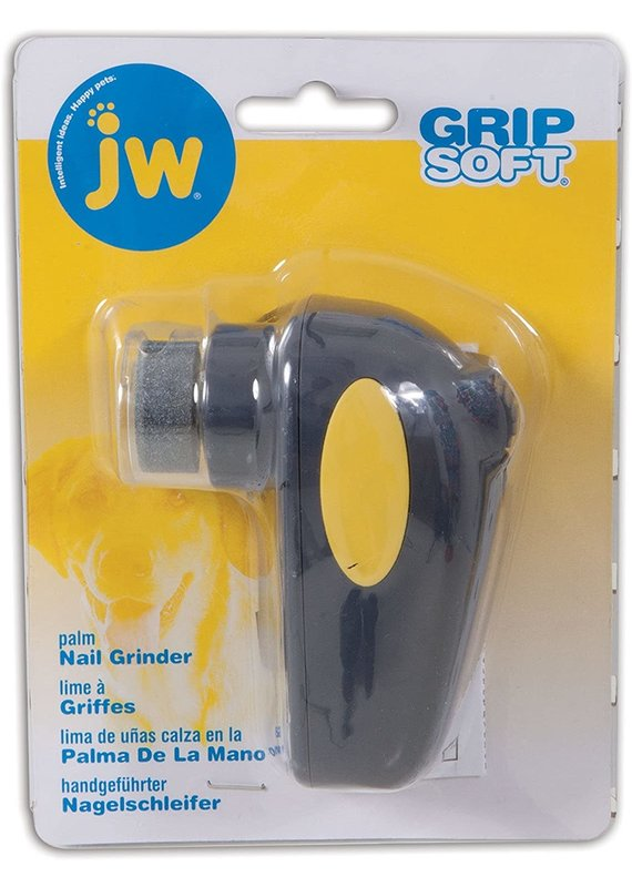 JW Pet JW Pet GripSoft Palm Nail Grinder for Dogs & Cats