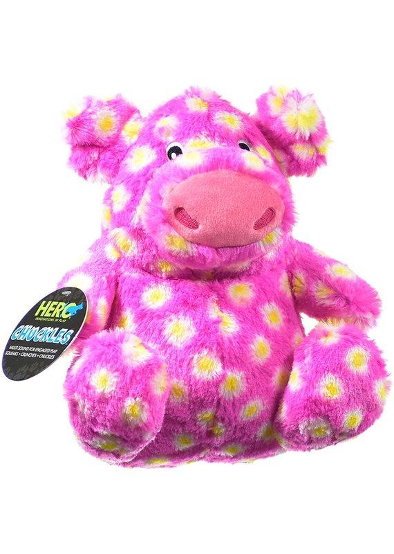 Hero Hero Chuckles Pig Plush Dog Toy