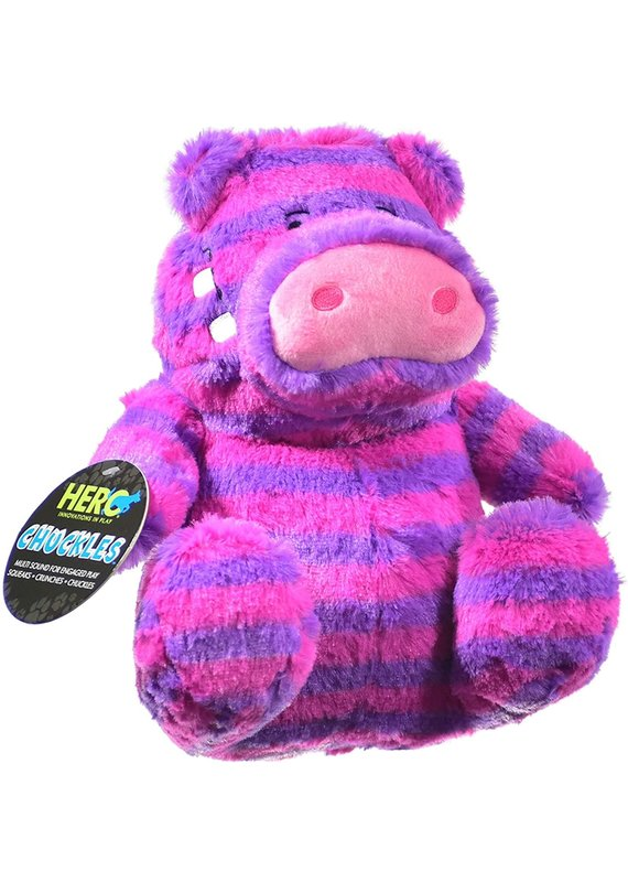 Hero Hero Chuckles Hippo Plush Dog Toy