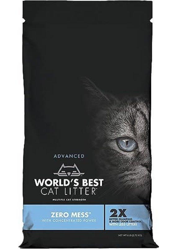 World's Best Cat Litter World's Best Cat Litter Zero Mess Unscented Cat Clumping Corn Litter