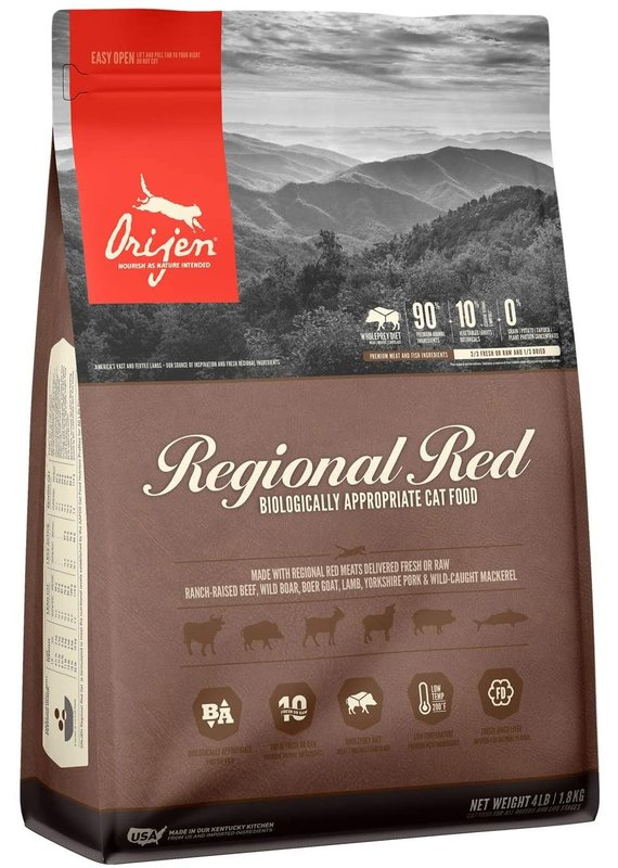 ORIJEN ORIJEN Regional Red Dry Cat Food