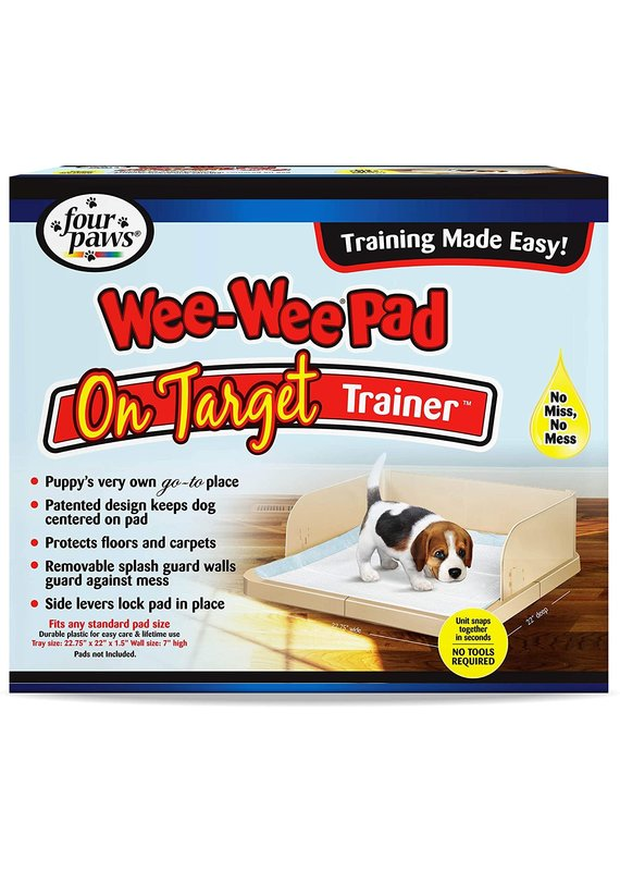 Four Paws Four Paws Wee-Wee Pad On Target Trainer Plastic for Dogs