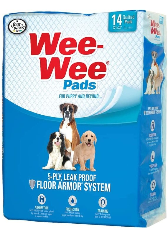 Four Paws Four Paws Wee-Wee Pads for Puppies & Dogs