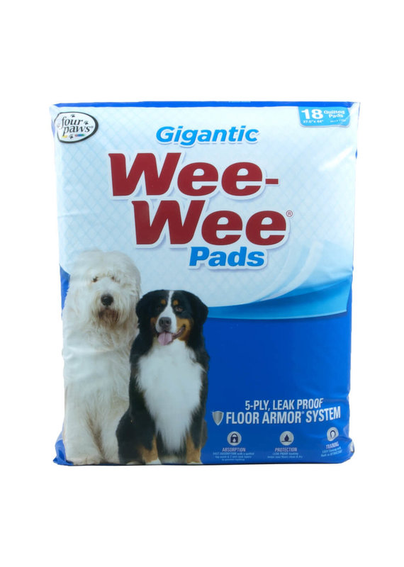 Four Paws Four Paws Wee-Wee Pads Giant for Dogs 18-Count