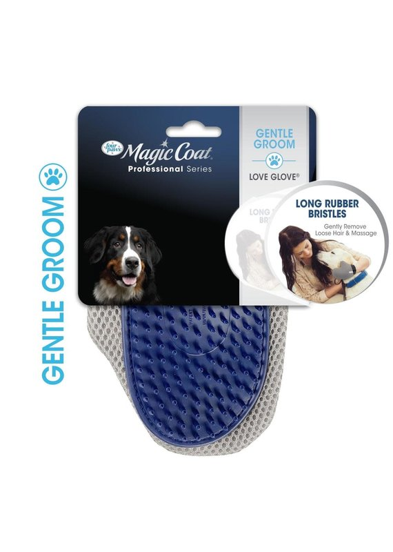Four Paws Four Paws Magic Coat Professional Series Love Glove Dog Grooming Glove