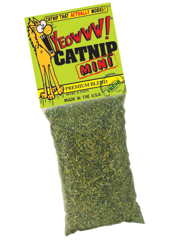 DuckyWorld Products DuckyWorld Products Yeowww! Catnip Mini Cat Toy (Misdemeanor Size)