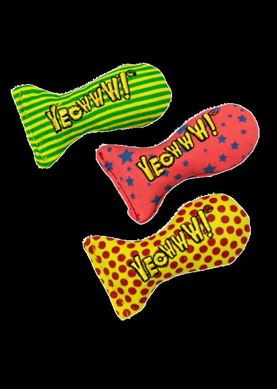 DuckyWorld Products DuckyWorld Products Yeowww! Stinkies Catnip Sardines Cat Toy