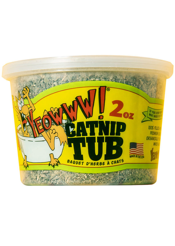 DuckyWorld Products DuckyWorld Products Yeowww! Catnip Tub Cat Toy 2-oz