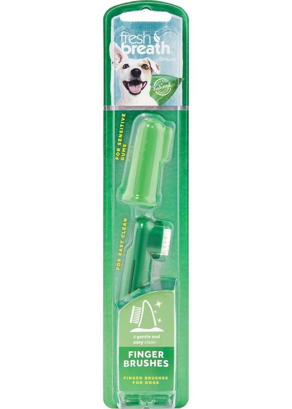 TropiClean TropiClean Fresh Breath Finger Brushes for Dogs (2 Count)