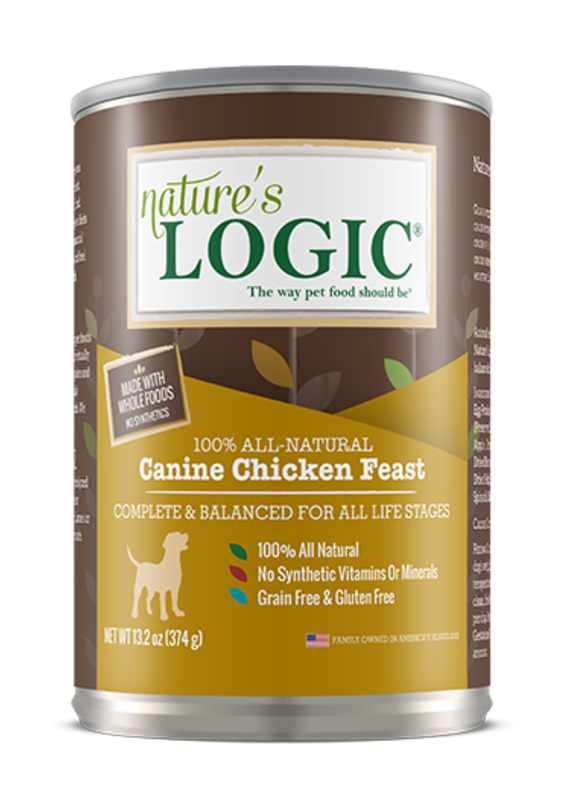 Nature's Logic Nature's Logic Canine Chicken Feast Canned Wet Dog Food 13.2-oz