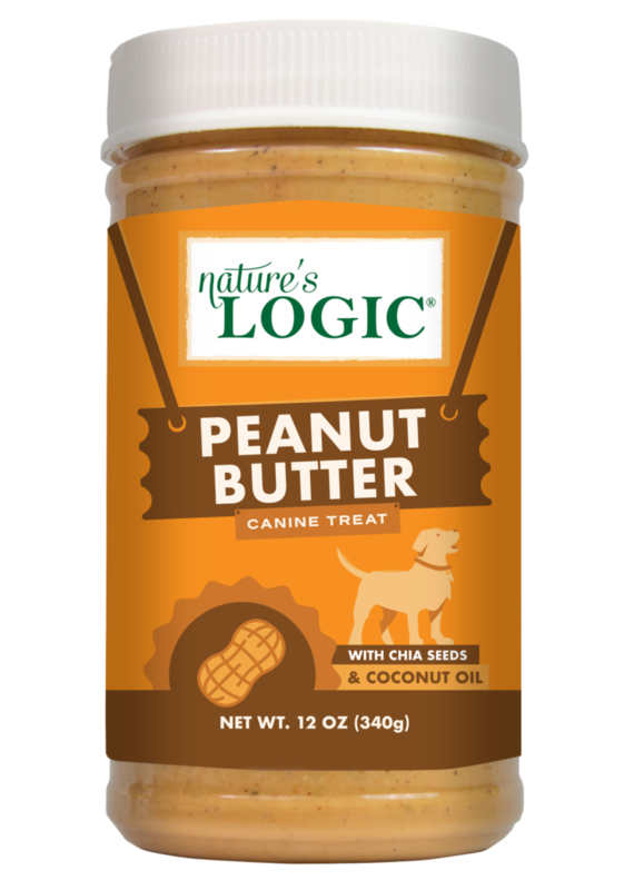 Nature's Logic Nature's Logic Canine Peanut Butter Dog Treat 12-oz