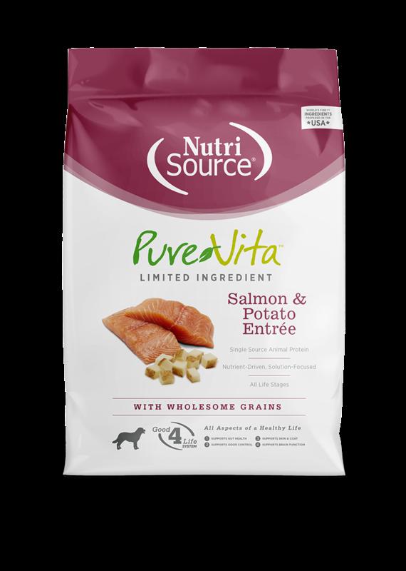 Pure Vita Pure Vita Salmon & Potato Entree Dry Dog Food