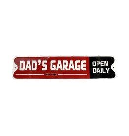 Plaque « Dad's Garage »